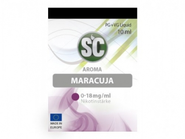 Maracuja Liquid - 10ml - SC
